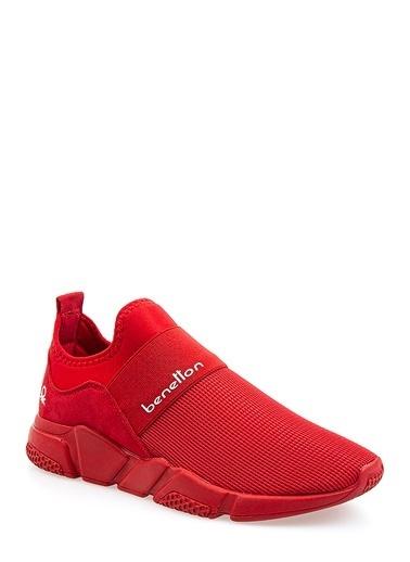 Benetton Bn30012 Kadın Spor Ayakkabı Kırmızı